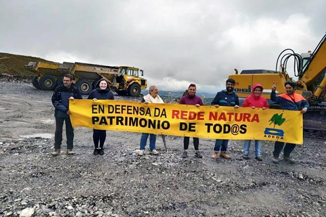 O movemento ecoloxista concentrouse nos últimos meses en contra do parque eólico do Monte Oribio, entre Samos e Triacastela, igual que nos anos 90 o fixera no Xistral