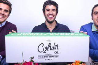 Colvin, a 'start-up' que revolucionou o mundo da flor ó eliminar intermediarios