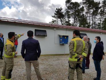 Granxa Fondevila, protección contra o lume cun sistema de aspersión de auga
