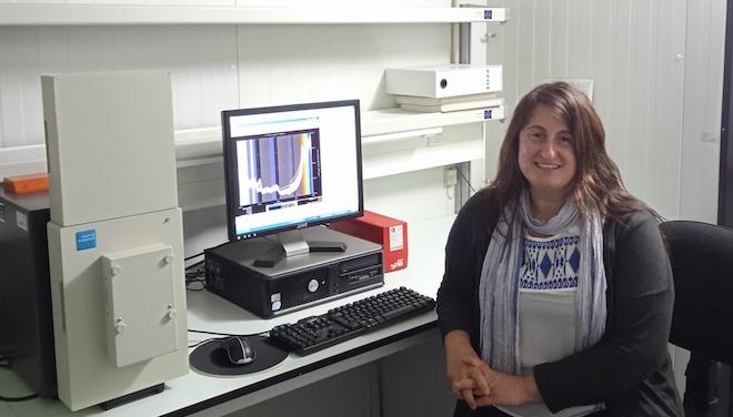 A investigadora Sonia Pereira Crespo
