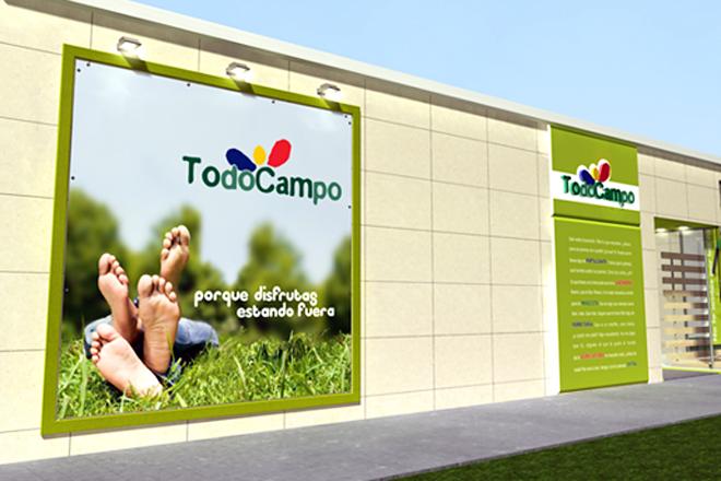 Una de las tres tiendas Todocampo con las que cuenta Aresa en Lugo, Meira y Foz