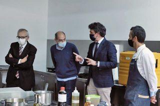 Unha 'masterclass' do cociñeiro Yayo Daporta pecha a primeira edición da Aula Gastronómica Galicia Calidade