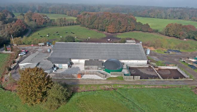 Son as plantas de biogás unha alternativa viable para o vacún de leite?