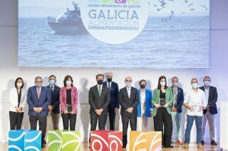 Calvo, Nueva Pescanova, Asoporcel e Gadis, premios Galicia Alimentación 2021