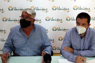 Félix Porto e Óscar Pose, na rolda de prensa.