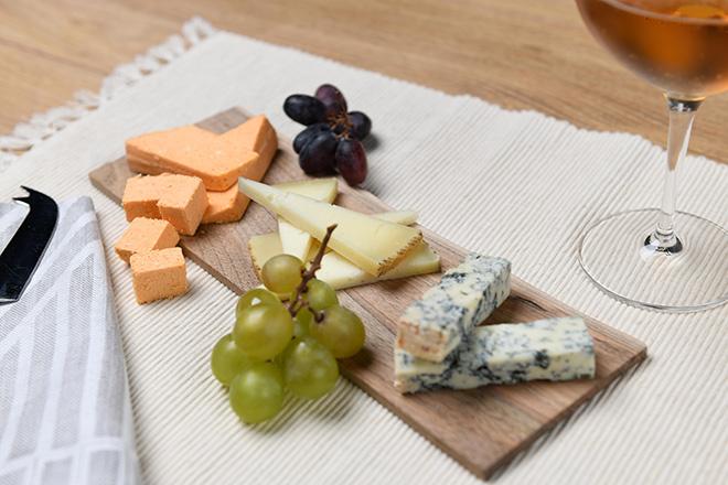 Tabla de quesos de cenar