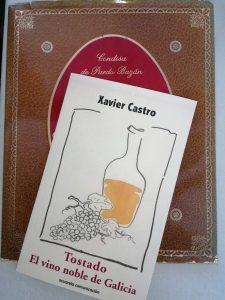 Libro Vino tostado en Galicia_Xavier Castro