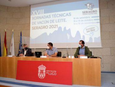 Seragro converte en telemáticas as súas xornadas técnicas de vacún de leite de 2021