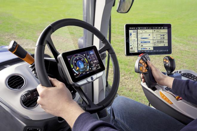 La pantalla en el centro del volante es una novedad que incorpora este nuevo modelo
