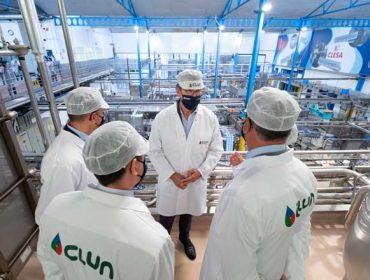 Respaldo institucional a Clesa, unha das referencias de éxito do cooperativismo lácteo galego