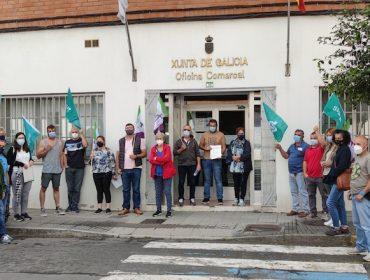 Gandeiros de vacún de carne reclaman en Lalín axudas directas para paliar as perdas pola Covid-19