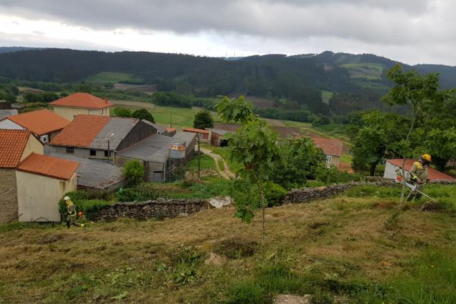 El convenio de protección de las aldeas frente a los incendios alcanza cerca del 70% de las parcelas y superficie gestionada