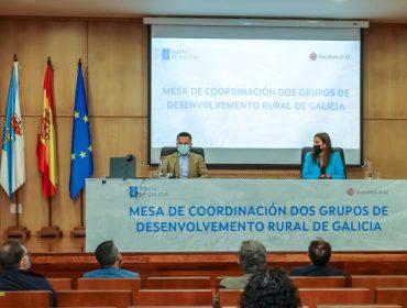 A Xunta crea unha mesa para coordinar os 24 grupos de desenvolvemento rural
