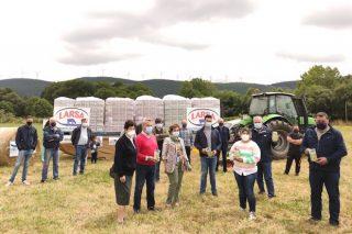 12.000 litros de leite solidario dende Rodeiro para familias en dificultades