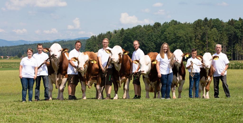 Criador del año 2020: La familia Sitka con seis toros de élite de su ganadería