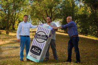 Deleite lanza en España o leite A2, un leite natural máis dixerible