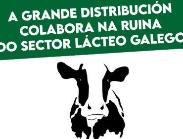 A Fruga convoca aos gandeiros de leite a concentrarse este venres ante a gran distribución en protesta polos baixos prezos