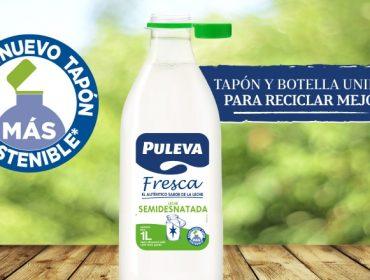 Lactalis elixe España como primeiro país para probar os seus novos tapóns adheridos ás botellas