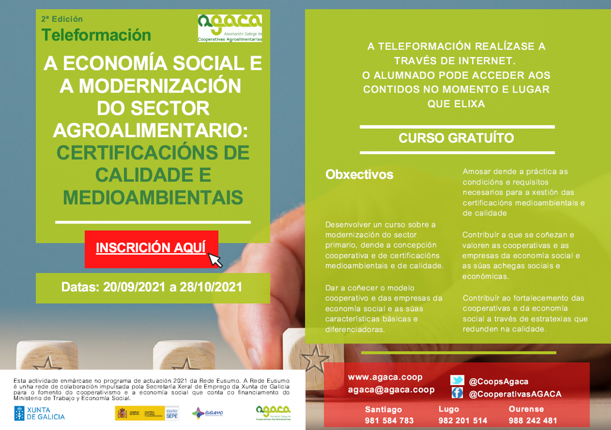 AGACA CERTIFICACIONS DE CALIDADE 1