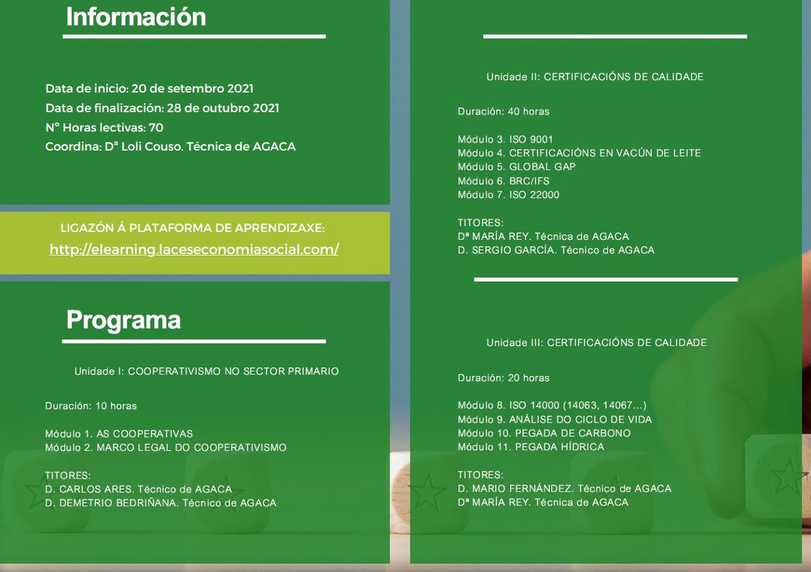 AGACA CERTIFICACIONS DE CALIDADE 2