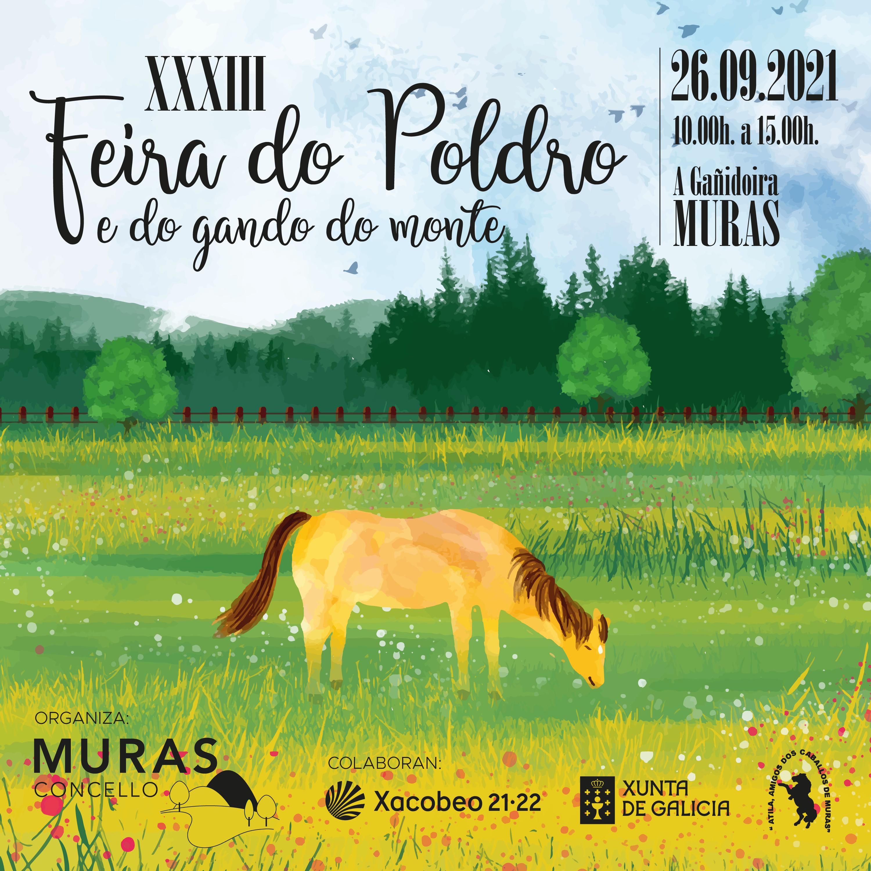 CARTAZ FEIRA DO POLDRO MURAS 2021