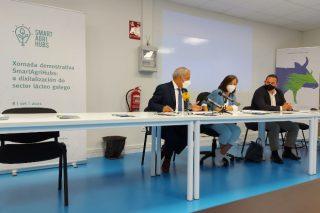 Xornada de presentación do experimento galego FIE 23 para mellorar a produción en vacún de leite