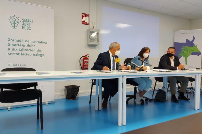 Jornada de presentación del experimento gallego FIE 23 para mejorar la producción en vacuno de leche