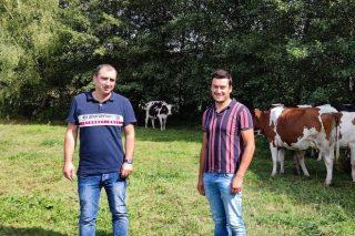 Rousil SC: Unha aposta por producir leite de pastoreo A2A2 no Val de Camba