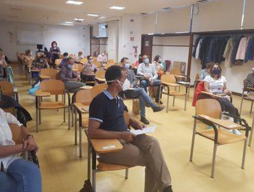 Reunión en Santiago do proxecto europeo Click on T para difundir boas prácticas agrogandeiras contra o cambio climático