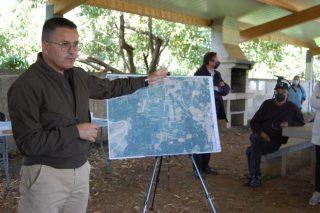 Proxectan recuperar 22 hectáreas de terra abandonada en Monterrei para dedicalas a viñedo