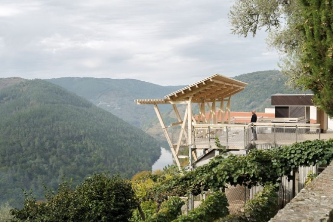 Miradoiro da Cova, un caso de éxito no uso da madeira como solución construtiva