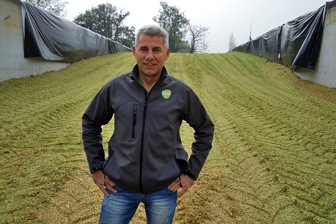José Manuel López Pardo é o técnico responsable da planta