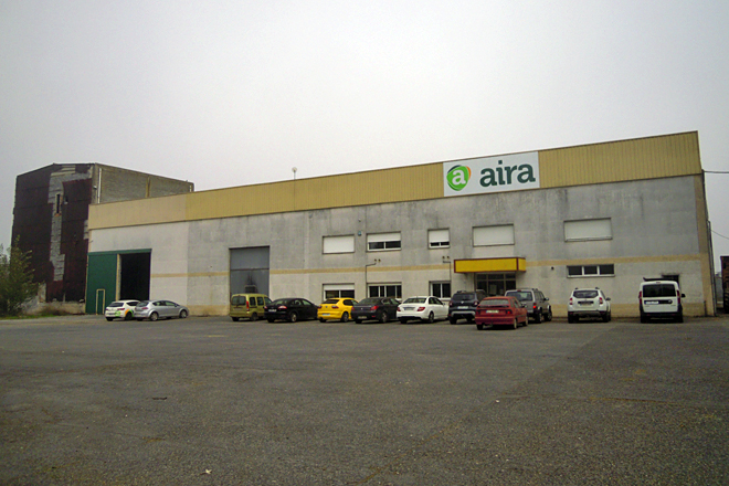 Vista xeral da planta ubicada en San Xulián da Viega, no concello de Sarria