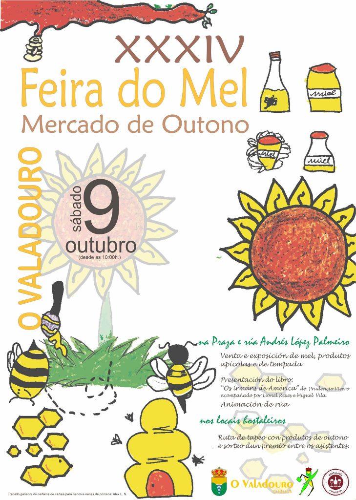 cartel feira do Mel O Valadouro 2021