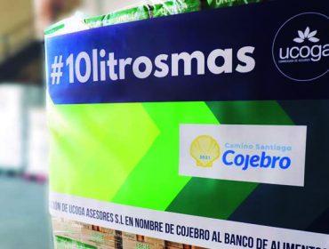 Ucoga doa 740 litros de leite en nome de Cojebro